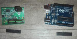 DVMega + Arduino Uno